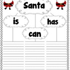 Santa Activities for Young Writers