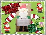 Santa Claus Christmas/Holiday Writing Craftivity