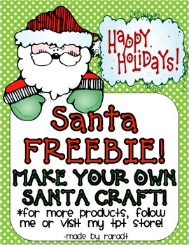 Santa Craft FREEBIE!
