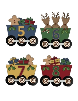 Santa Express Alphabet and Number Train