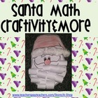 Santa Math Craftivity and More