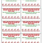 Santa Punch Card