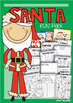 Santa Reading and Writing Packet - Rhyming Text + Worksheets