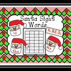 Santa Sight Words