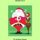 Santa Stuck Story Writing Project Grades 2 to 4