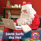 Santa Surfs the Net