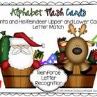 Santa and His Reindeer Letter Match