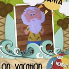 Santa on Vacation Craftivity