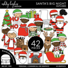Santa's Big Night {Graphics for Commercial Use}