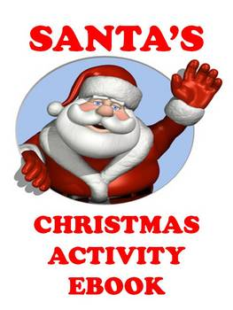 Santa's Christmas Activity Ebook