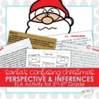 Santa's Confusing Christmas - Point of View  Mini Unit (Pe