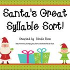Santa's Great Syllable Sort - Syllabication Patterns