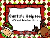 Santa's Helpers {Elf and Reindeer Centers and Games}