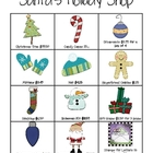 Santa's Holiday Shop FREEBIE