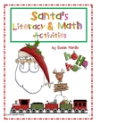 Santa&#039;s Literacy and Math Activities