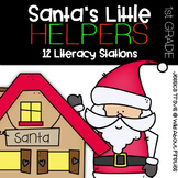 Santa's Little Helpers {12 Literacy Centers for December}