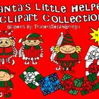 Santa's Little Helpers-Elves-Clipart Collection- 14 Images