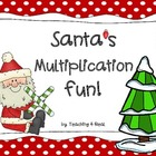 Santa's Christmas Multiplication Fun