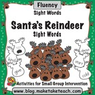 Santa's Reindeer- Dolch 220 Sight Words