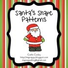 Santa's Shape Patterns