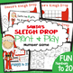Santa's Sleigh Drop - Math Activity for Subtraction