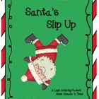 Santas Slip Up on the Elf Awards: A Math Logic Activity Packet