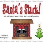 Santa's Stuck Math Center-Freebie