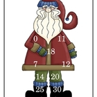 Santa's Subtraction Bingo Games - 9 pages