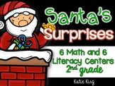 Santa's Surprises: 6 Math AND 6 ELA Centers