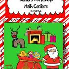 Santa's Workshop Math Centers