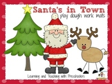 Santa's in Town Play Doug Work Mats