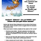 Santa&#039;s reindeer character traits