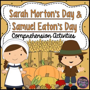 Sarah Morton's Day & Samuel Eaton's Day Compare and Contrast Activities