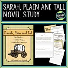 Sarah Plain and Tall CCSS Aligned Novel Study Plus!