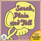 Sarah, Plain and Tall Novel Unit CD ~ Common Core Standard