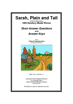 Sarah, Plain and Tall Short Answer Questions