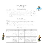 Sarah Plain and Tall Spelling Words Study Activity List