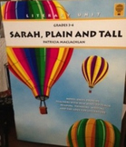 Sarah Plain and Tall Teacher Novel Guide