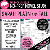 Sarah, Plain and Tall by Patricia MacLachlan Novel Study