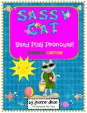 Sassy Cat Sand Play Pronouns