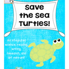 Save the Sea Turtles! {An Integrated Mini Unit}