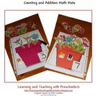 Say It, Count It, Write It Flower Math Mats
