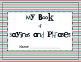 Sayings & Phrases Student Book