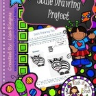 Scale Drawing Examples Practice Worksheet; Fun Project