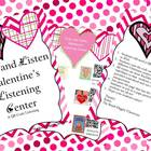 Scan and Listen Valentine's Listening Center