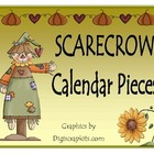 Scarecrow Calendar Pieces