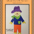Scarecrow Craft: a craftivity and printables