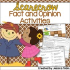 Scarecrow Fact and Opinion Activities