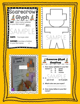 Scarecrow Glyph- October Fun
