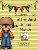 Scarecrow Letter and Sound Match